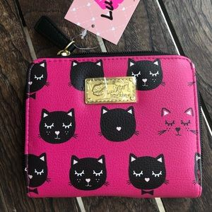 Luv Betsey Johnson Kitty wallet